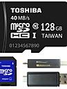 toshiba 4gb Classe / 8gb / 64gb / 128gb de 10 micro sd tf carte memoire avec adaptateur SD et multi-fonction USB OTG lecteur de carte