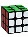 Yongjun® Slät Hastighet Cube 3*3*3 Hastighet / professionell nivå Magiska kuber Svart Blekna slät klistermärke GuanlongAnti-pop /