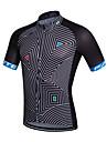 fastcute Maillot de Cyclisme Homme Manches courtes Velo Maillot Sechage rapide Respirable Anti-transpiration Coolmax ClassiquePrintemps