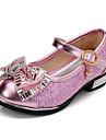 Fille-Habille-Rose Argent Or-Talon Bas-Confort-Chaussures Bateau-Polyurethane