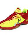 Femme-Sport-Jaune / Rouge / Orange-Talon Plat-Confort-Chaussures d\'Athletisme-Polyurethane / Tulle