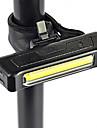 Cykellyktor / cykel glödljus / säkerhetslampor LED Cree XM-L T6 Cykelsport Superlätt 18650 / Lithiumbatteri 100 Lumen Batteri Naturlig Vit