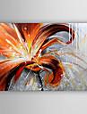 Pictat manual Floral/Botanic Picturi de ulei,Modern Un Panou Canava Hang-pictate pictură în ulei For Pagina de decorare