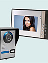Wireless Sonerie video multifamilială 7 Portabil 30 Interfon video 1 la 4