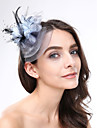 Femme Plume / Filet Casque-Mariage / Occasion speciale Coiffure 1 Piece