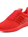 Unisexe-Exterieure Decontracte Sport-Noir Rouge-Plateforme Creepers-A Plateau Confort-Baskets-Tulle