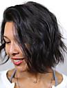 brasilianska kort bob jungfru människohår peruker vatten våg peruker för svarta kvinnor fulla spets med baby hår peruk
