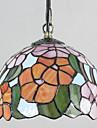 25W Hängande lampor ,  Tiffany / Vintage / Rustik Målning Särdrag for Ministil Metall Bedroom / Dining Room / Kök