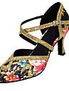 Chaussures de danse(Autre) -Personnalisables-Talon Personnalise-Satin / Paillette-Latine / Moderne