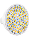 7W GU5.3(MR16) Spoturi LED MR16 72 SMD 2835 600-700 lm Alb Cald / Alb Rece Decorativ 9-30 V 1 bc