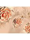 Blom Bakgrund För hemmet Nutida Tapetsering , Icke-vävt Papper Material lim behövs Mural , room Wallcovering