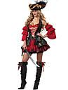 Costumes de Cosplay Costume de Soiree Deguisements Theme Film/TV Fete / Celebration Deguisement d\'Halloween Rouge MosaiqueRobe Plus