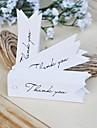 Etichete(Alb / Maro,Hârtie Rigidă pentru Felicitări) -Tema rustic
