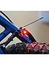 säkerhetslampor LED LED Cykelsport Liten storlek Superlätt 100 Lumen Batteri Röd Cykling-Belysning