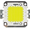 100W 10000lm 6000K ledde kallt vitt chip svalt vitt lampa hög effekt lågenergilampa chip (dc 30-33v)