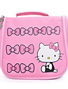 Hello Kitty korea gullig tecknad makeup väska med stor lagringskapacitet resa vattentät tvättpåse
