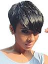 perruques naturelles ondulees courtes humaines de cheveux pour femme