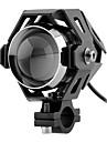 transformateurs U5 30w laser canon moto conversion des phares conduit projecteurs feux de haute puissance de brouillard avec stroboscope