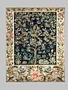 fantasi / Botanisk Canvastryck En panel Redo att hänga , Vertikal