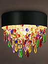 Montage du flux ,  Contemporain Traditionnel/Classique Rustique Retro Lanterne Batterie Peintures Fonctionnalite for Cristal Style mini