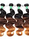 Nyans Brasilianskt hår Kroppsvågor 6 månader 4 delar hår väver