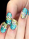 12 Manucure De oration strass Perles Maquillage cosmetique Nail Art Design