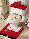 housse de siege de flanelle de qualite&mettre une serviette reservoir d\'eau de pad tapis de pied couverture salle de bain se pere