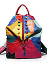 Decontracte Sac a Dos Femme Polyurethane Multicolore