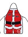 juldekoration jultomten förkläde whimsy nyhet gåva för kök förkläde Santa säckar navidad natal