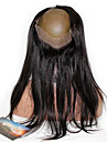 360 frontal Droit (Straight) Cheveux humains Fermeture Brun roux Dentelle Francaise 75g-95g gramme Moyenne Cap Taille