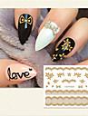 1 nagel konst Sticker 3D Nagelstickers skönhet Kosmetisk nagel konst Design