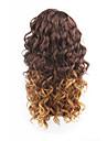 nouveau style cheveux bruns dentelle avant vague lache perruques de cheveux synthetiques