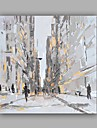 Peint a la main Abstrait Paysage Peintures a l\'huile,Moderne Classique Un Panneau Toile Peinture a l\'huile Hang-peint For Decoration