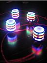 Eclairage LED Cylindrique Plastique Arc-en-ciel Pour Garcons