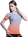 Sportif®Yoga Tee-shirt Hauts/Tops Respirable Sechage rapide Lisse Confortable Haute elasticite Vetements de sportYoga Pilates Exercice &