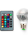 Ac85-265v 5w b22 e14 e27 e26 rgb LED ampoules de decoloration a commande intelligente 1pc