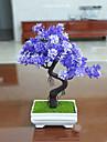 1 1 Une succursale Polyester Plantes Fleur de Table Fleurs artificielles 23.8(9.4\'\')
