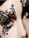 1 Tatouages Autocollants Autres Serie romantique Non Toxique Motif Halloween Dentelle Noel MariageHomme Femelle Femme Adulte Adolescent