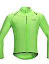 SANTIC® Veste de Cyclisme Femme / Homme / Unisexe Manches longues VeloEtanche / Sechage rapide / Pare-vent / Ecran Solaire / Tissu Ultra