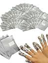 100 nagel konst Kits nagel konst Manikyr verktyg Kit skönhet Kosmetisk nagel konst DIY