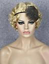 flapper perruque adultes retro perruques de costumes femmes