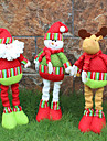1cover3pcs) 3different stiluri ornament de Crăciun de modă nouă au un capac de dispoziție festivă de Crăciun cuțite și furculițe