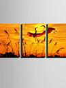 toile set Animal Modern,Trois Panneaux Toile Verticale Imprimer Art Decoration murale For Decoration d\'interieur