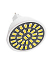 6W GU5.3(MR16) Spot LED G45 32 LED SMD 5733 400LM-450LM lm Blanc Chaud / Blanc Froid Decorative AC110 / AC220 V 1 piece