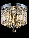 Montage du flux ,  Contemporain Traditionnel/Classique Tiffany Plafonnier pour Ilot de Cuisine Chrome Fonctionnalite for Cristal LED