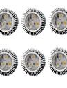 6W GU5.3(MR16) Spot LED MR16 3 LED Haute Puissance 560 lm Blanc Chaud / Blanc Froid V 6 pieces