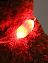 Katter Hundar Halsband LED Lampor batterier ingår Nyhet Röd Grön Blå Rosa Plast