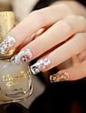 1Pcs Nail Sticker Art Autocollants de transfert de l\'eau / Autocollant dentelle / Autocollants 3D pour ongles Maquillage cosmetiqueNail