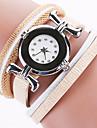 pentru Doamne Ceas La Modă Ceas de Mână Ceas Brățară Quartz Plin de Culoare imitație de diamant Ștras PU BandăVintage Boem Charm Brățară