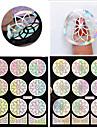 1 Nail Sticker Art Diecut Manucure Pochoir / Autocollants 3D pour ongles Maquillage cosmetique Nail Art Design